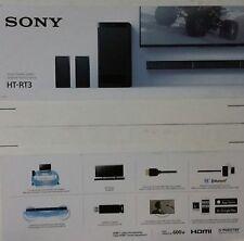 Sony HT-RT3 5.1 Soundbar, Bluetooth, NFC, USB, 600W, kabelloser Sub (B7472-B7478