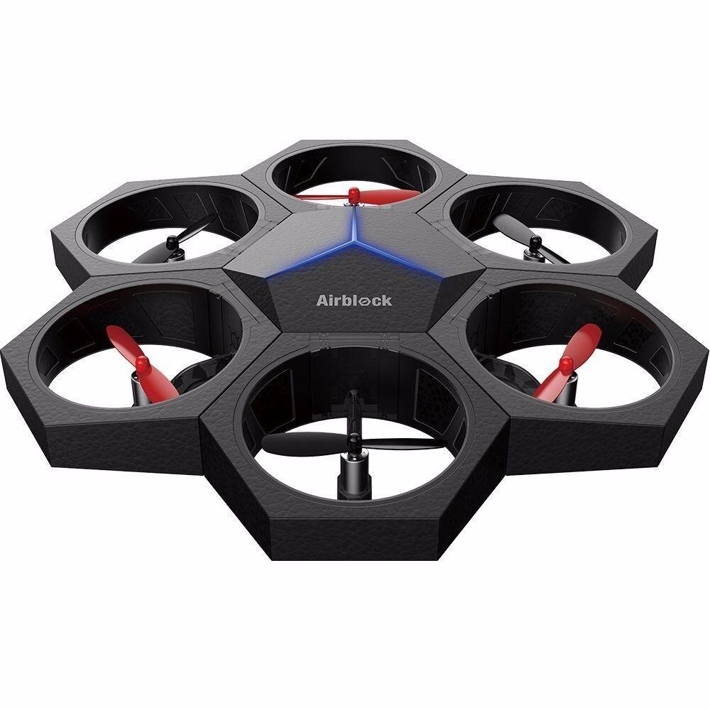 Airblock  The modular y programable triphibious Drone, aviones y 2 en 1