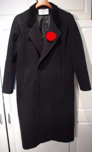 Vintage Black international Kvinders Ull Jacket Coat Scene In Russia Made Sz6 r6Rrq