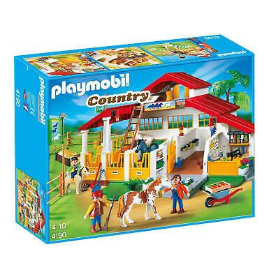 2019 Nieuwe Stijl Playmobil Country 4190 Centre équestre - Neuf !!!