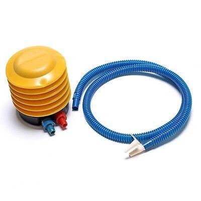 1Pc Portable Plastic Air Compressor Mini Simple Inflator Foot Pump For Balloon
