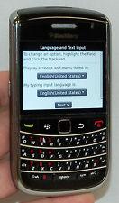 RIM BlackBerry Bold 3G 9650 Black Verizon Wireless Smart Phone keyboard camera