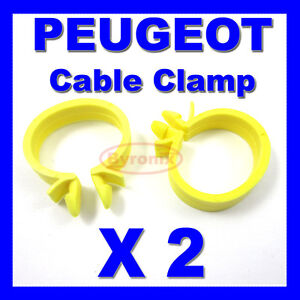 peugeot cable pipe clamp wires wiring loom harness clip holder image is loading peugeot cable pipe clamp wires wiring loom harness