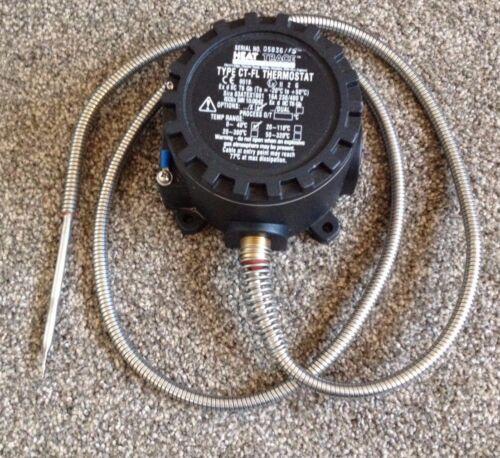 0-40 C Rastro De Calor Termostato con sonda tipo CT-FL