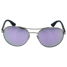 de3eace598 Ray-Ban Rb3536 019 4v Matte Silver Frame Green Lilac Mirror Lens Sunglasses  55