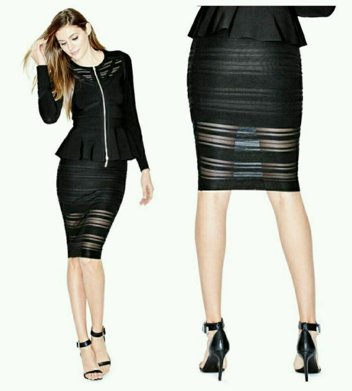 GUESS BY MARCIANO EDITHS PENCIL SKIRT