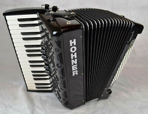 HOHNER-AMICA-forte-III-72-Piano-Akkordeon-72-Baesse-3-Choerig-ACCORDION