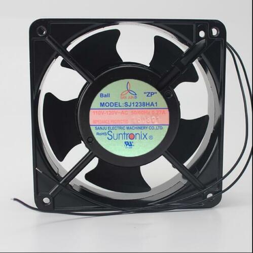 SJ1238HA1 110V-120VAC 120*120*38MM 0.27A aluminum frame AC fan