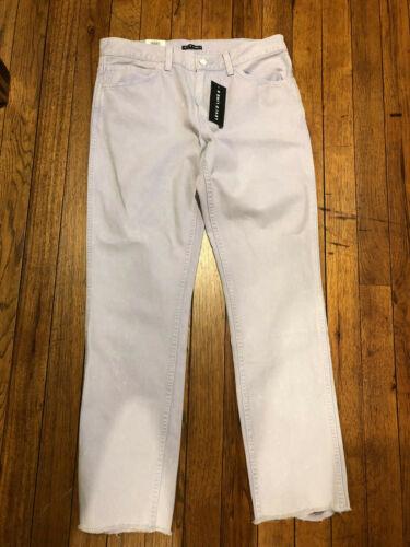 X slim jeans Dimensione 34 linea Nuovi Viola 32 Levis Line Bianco dritti Uomo T4pnxwz