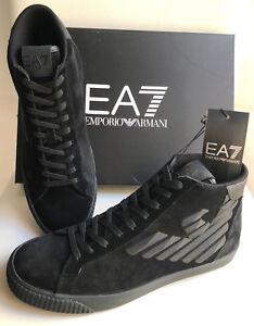 outlet store 2bfe5 1e616 Dettagli su Sneakers Uomo Armani EA7 248010 7A299 Stivaletti Scarpe Grigie  Blu Nere Nuove