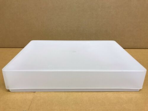 Cajas de plástico transparente A4 X 5 Hecho en Reino Unido contenedor de almacenamiento Caja de Artesanía Papel 1 Reem