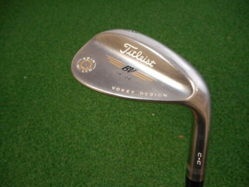 1 of 1 - TITLEIST VOKEY SPIN MILLED C-C 58.04* LOB WEDGE VOKEY WEDGE FLEX STEEL USED RH