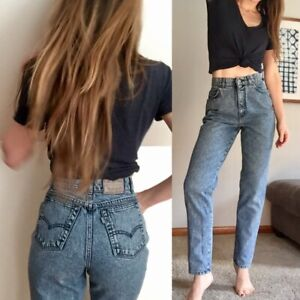 7f4bec129e71d5 NEW* WOMEN Original Levi's 900 series Jeans High Waist Denin Size 13 ...