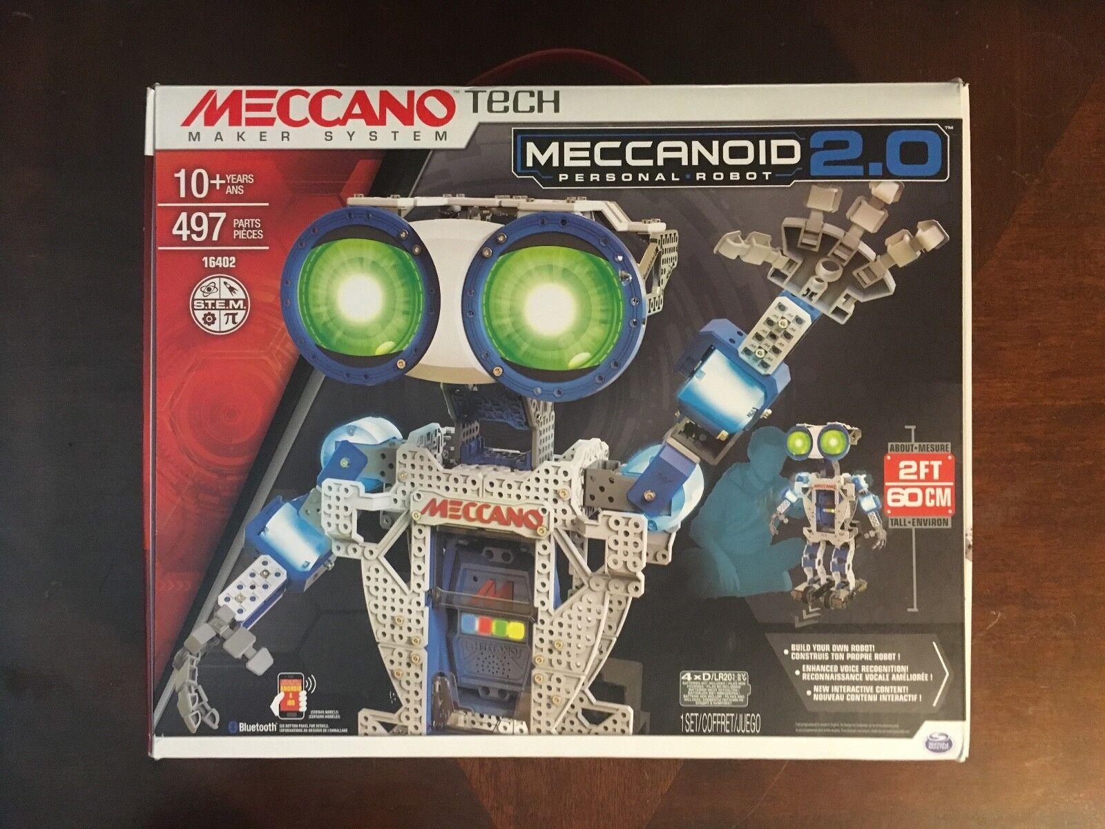 Meccano-Erector - Meccanoid 2.0 - Brand New  Robot Building Toy