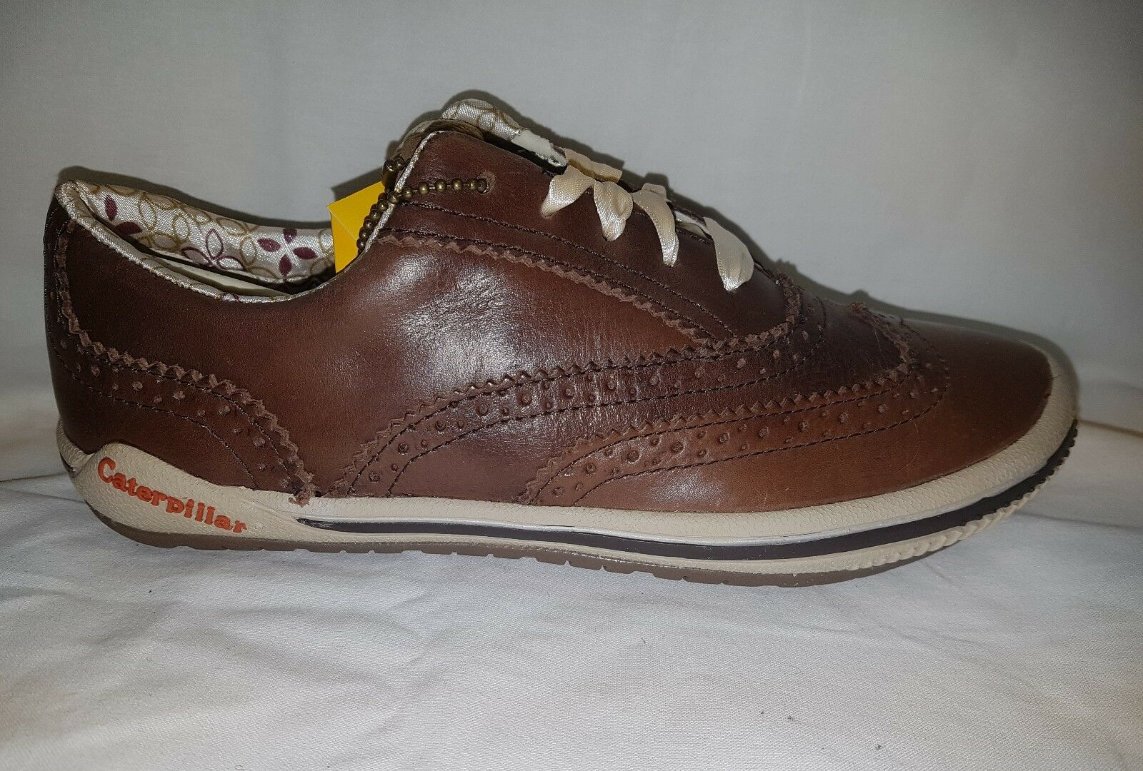 Ladies Womens Caterpillar Shone Shoes Oxford Brown Trainers  Shoes Shone 4 5 6 7 8 bc8760