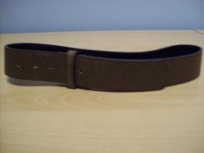 Cintura Ragazzi Marrone Pelle Sintetica Look Cintura Senza Fibbia Nuovo-mostra Il Titolo Originale Dolcezza Gradevole