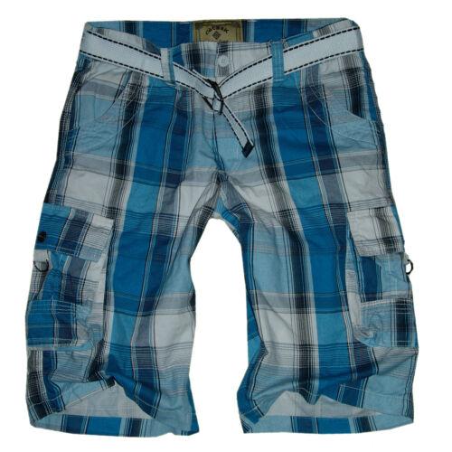 A Quadri Shorts Taglia xs-3xl XXXL Estate Pantaloni a quadri # H-Sxx * Bermuda Uomo Pantaloni Cargo