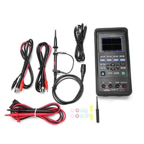 Hantek 2D72 Handheld Oscilloscope 70MHz 250MSa//s Signal Generator Multimeter DMM