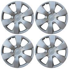 4 Pc Hub Cap Abs Silver 16 Inch Rim Wheel Skin Cover Replica Set Caps Covers Fits Mustang
