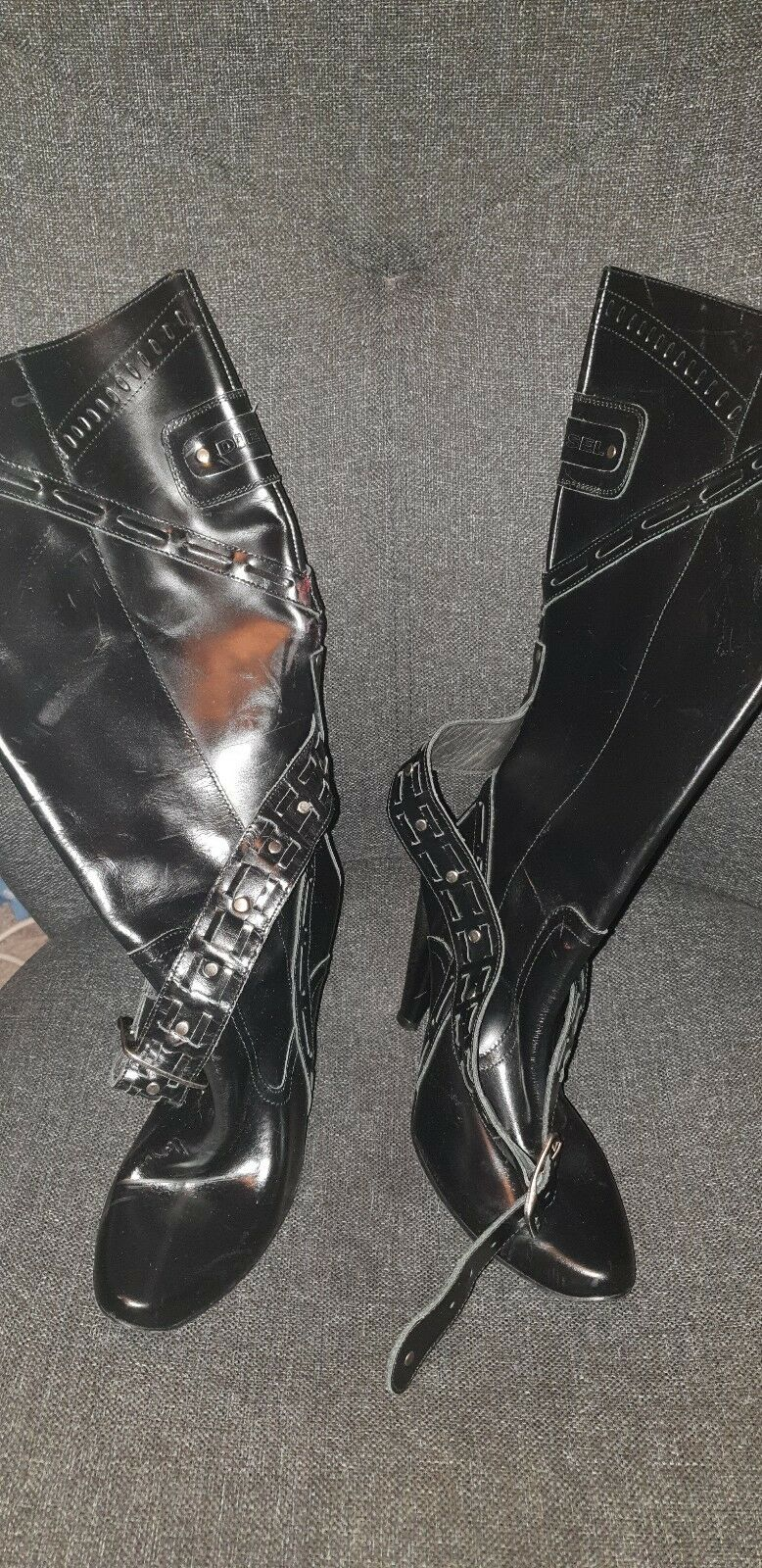 Damenschuhe Damenschuhe Damenschuhe Diesel 5 Stiefel Größe 5 Diesel ba602b ... 99dff6