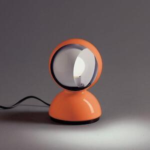 Artemide-Eclisse-Arancione-Vico-Magistretti-1967
