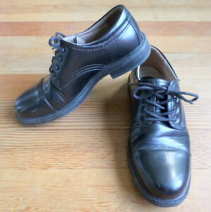 87f9fbc4cc3127 Merona Dress Shoes Oxfords Black Men s 8.5 Comfort Gel Comfy Dressy ...