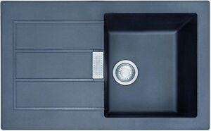 einbauspüle küchenspüle franke sid 611 78 spüle tectonite onyx