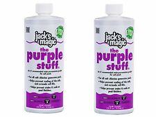 2 PACK Jacks Magic Salt Solution The Purple Stuff For Swimming Pools JMPURPLE032