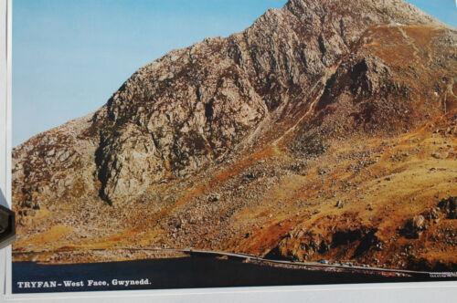 Panoramic Fotocrag Poster Tryfan West Face Gwynedd NoFP7 Unusual Gift Idea