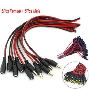 10pcs-male-femelle-DC-prise-d-039-alimentation-prise-Jack-connecteur-cable-FR