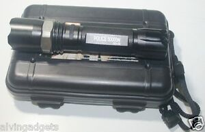 Police-50000W-GD32-LED-Flashlight-Zoomable-With-Case-Battery-18650-amp-Charger