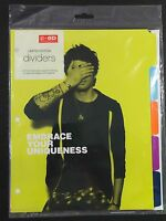 One Direction 1d Zayn Office Depot Against Bullying Dividers Set Complete