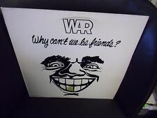 WAR Why Can't We Be Friends LP 1975 United Artists Records EX + Poster