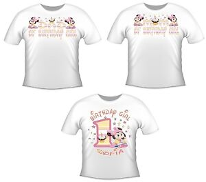 Details About You Pick Baby Minnie Mouse MOM DAD Brother OF BIRTHDAY GIRL T SHIRT 360