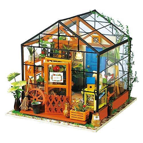 DIY Doll House Wooden Miniature Furniture Kit
