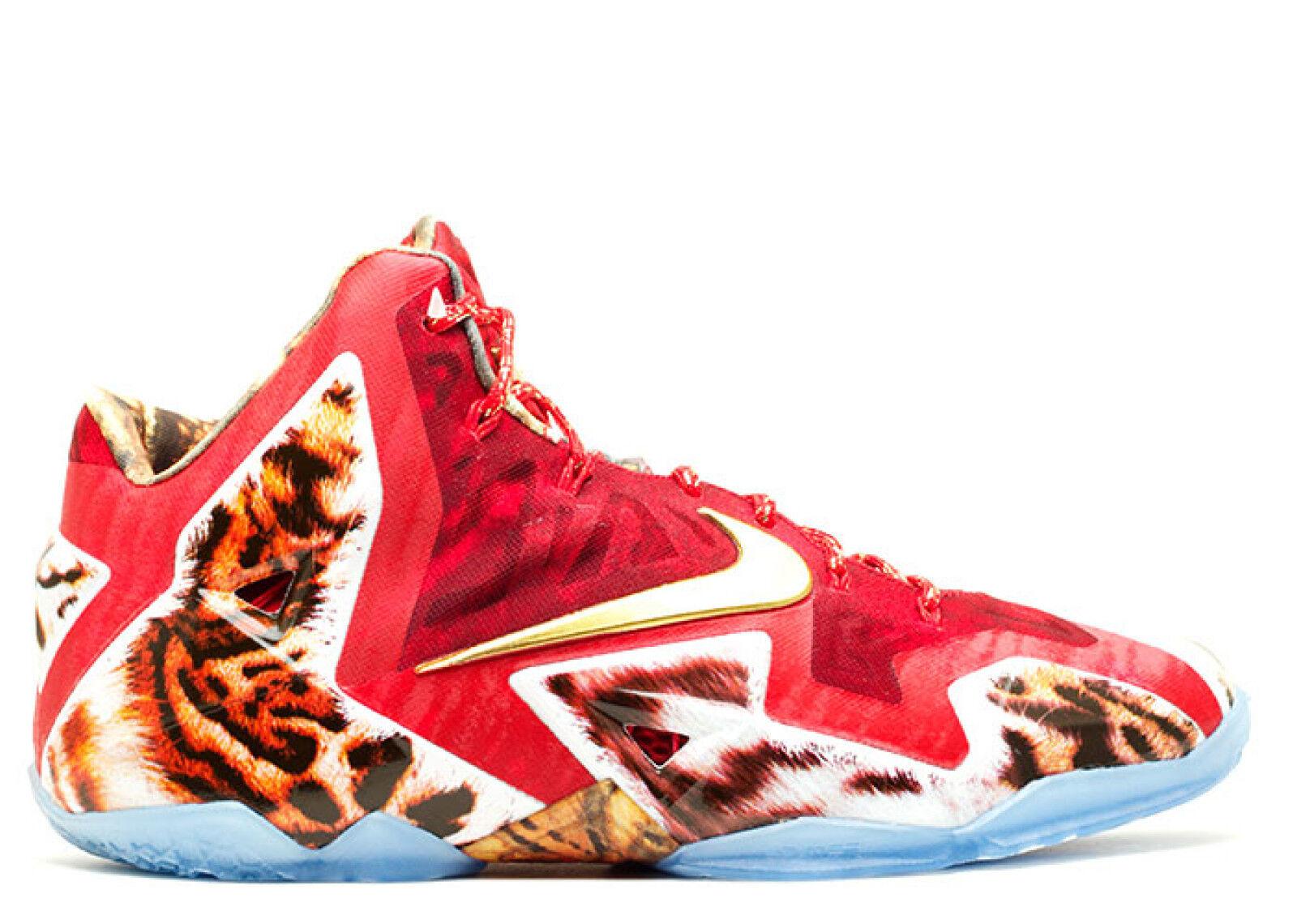 Nike LeBron 11 XI PRM 2K14 Size 13. 650884-674 Kyrie what the cavs mvp