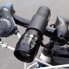 Fahrrad 3-Modi Zoomable Q5 Taschenlampe Wasserdicht LED-Licht Scheinwerfer Set