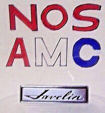 AM AMC AMERICAN MOTORS 1 NOS 1969 JAVELIN LONG PEG RADIO OVERLAY EMBLEM (BADGE)