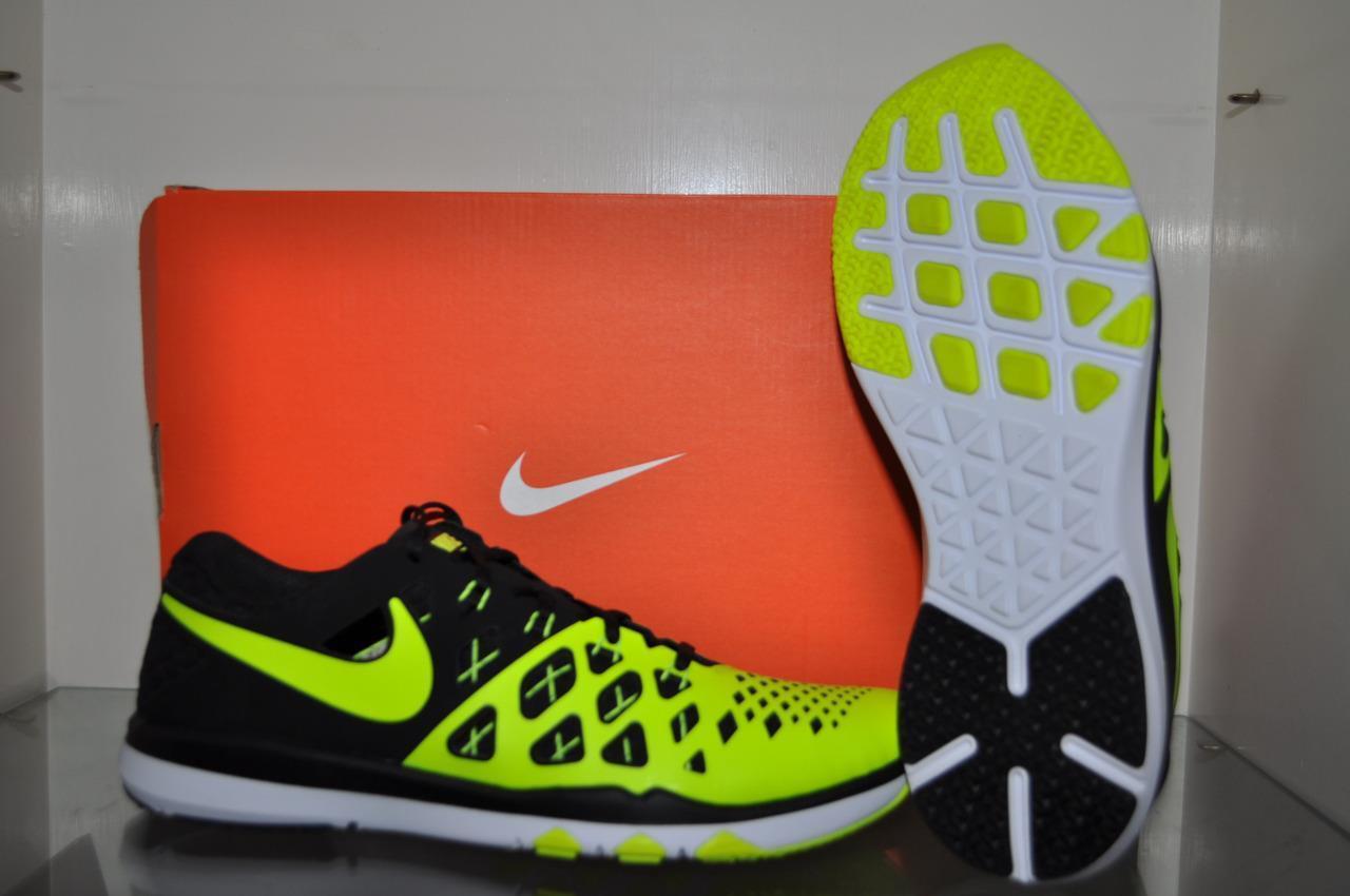 Nike Train Speed 4 Mens Running Shoes 843937 700 Volt/Black See Sizes NIB