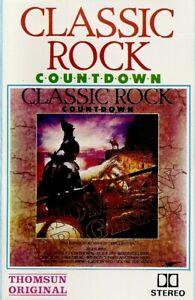 Various-Artists-Classic-Rock-Countdown-Import-Cassette-Tape