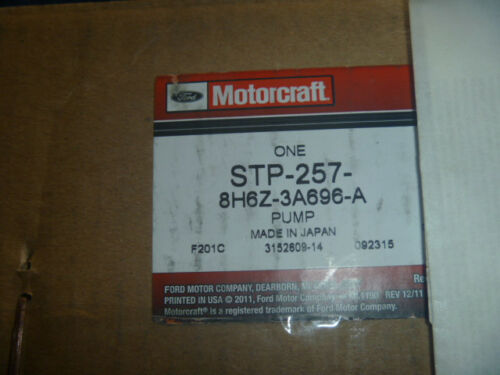 New Motorcraft 07 08 09 Lincoln MKZ Power Steering Pump 8H6Z-3A696-A 3.5L OEM