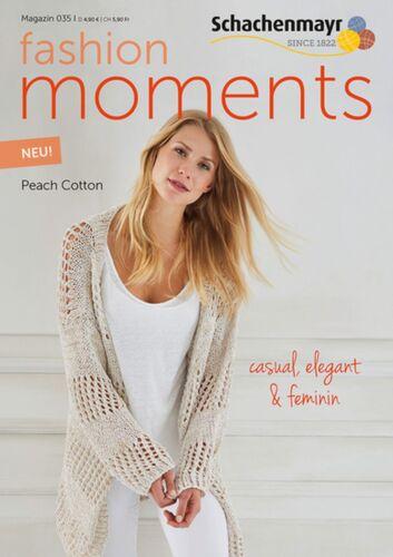Magazin 035 Fashion Moments Peach Cotton  Schachenmayr