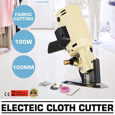 """ELECTRIC CLOTH CUTTER 4/"""" BLADE FABRIC CUTTING MACHINE"""