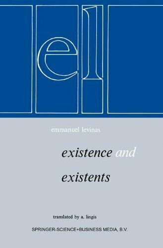 Existence et Existents by Levinas, E. 9024720486 FREE Shipping