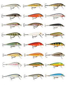 Rapala Countdown Fishing Lures / CD03 / CD05 / CD07 / CD09 / CD11