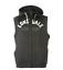 Lonsdale-Mens-XL-NWT-59-Charcoal-Gray-Full-Zip-Hoodie-Sweatshirt-Vest thumbnail 3