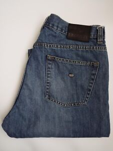 Jeans-Lacoste-Devanlay-Pierna-Recta-Para-Hombre-W32-L32-Mid-Azul-levm-710