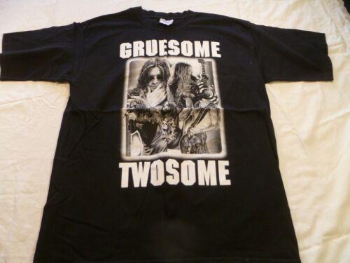 Ozzfest 2002 Concert Tee Shirt Greusome Twosome