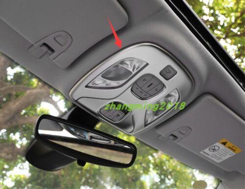 Chrome Interior Front Reading Light Cover Trim For Jeep Compass 2017 2018 2019