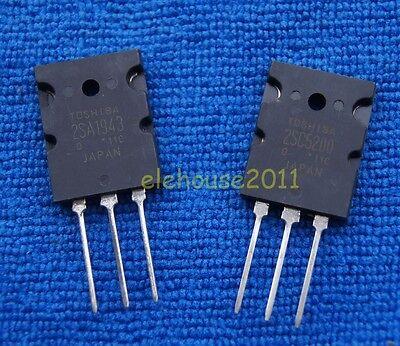 2pcs 1pair of 2SA1943/& 2SC5200 PNP Power Transistor